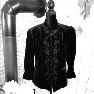 Apt. 9 Women's Velvet Jacket